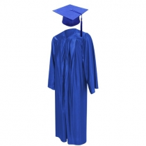 Graduation Gown - Blue