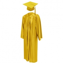 Graduation Gown - Yellow